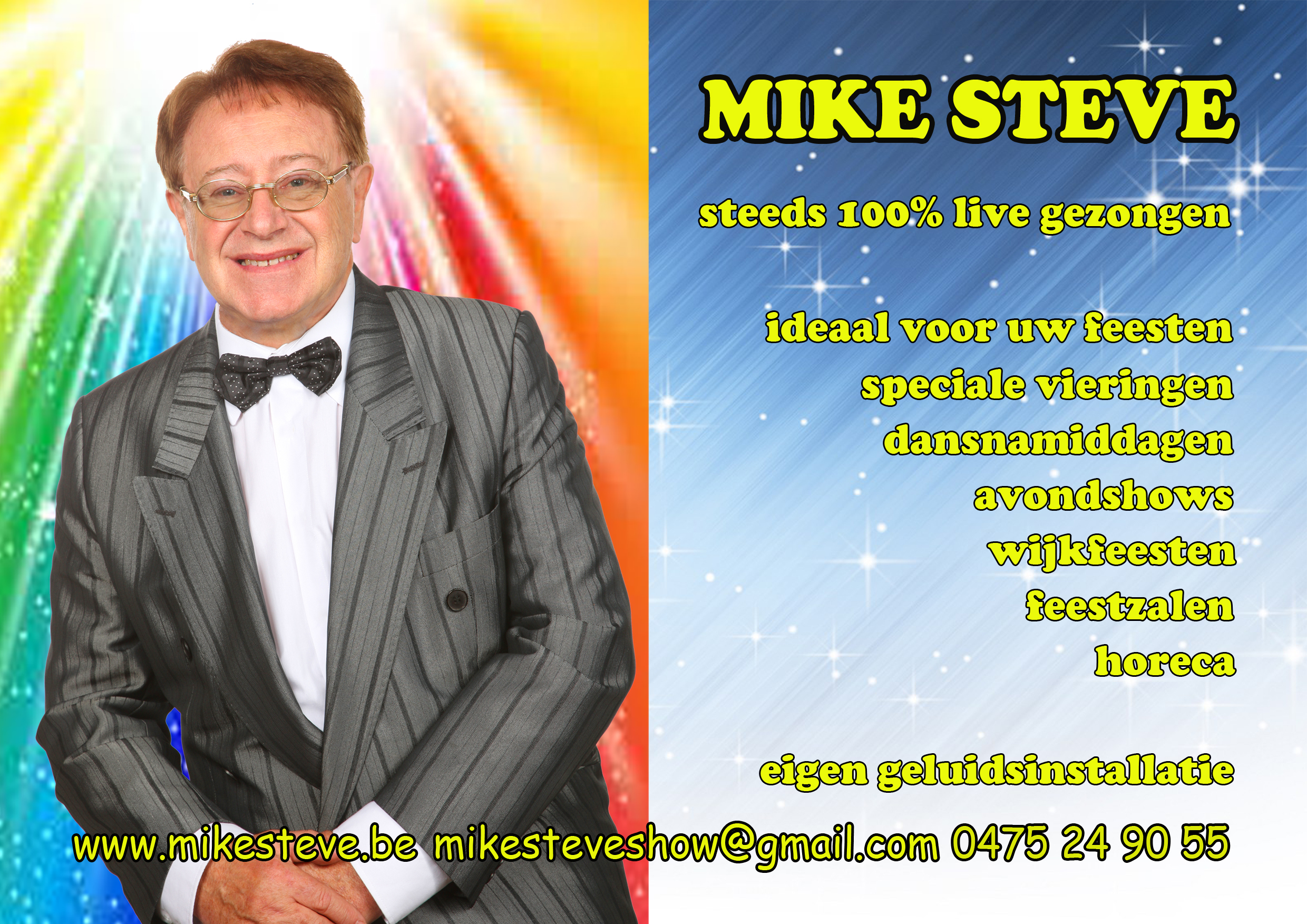 Mike Steve - voorstelling 2015